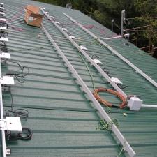 The first grid-tie micro-inverter installation in BC underway.