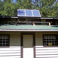 New solar array.