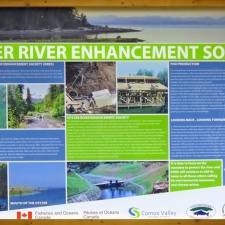Oyster River Enhancement Society.