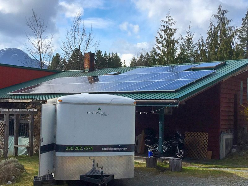 Gold River – Solar Grid-tie